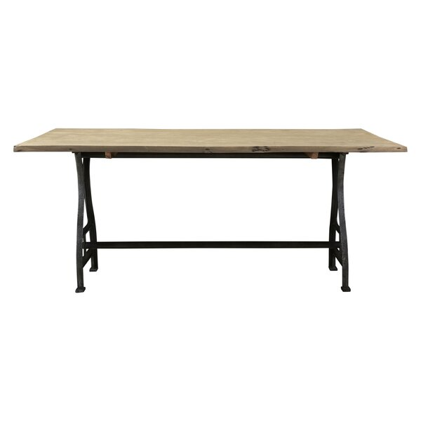 Ella Solid Wood Dining Table by 17 Stories