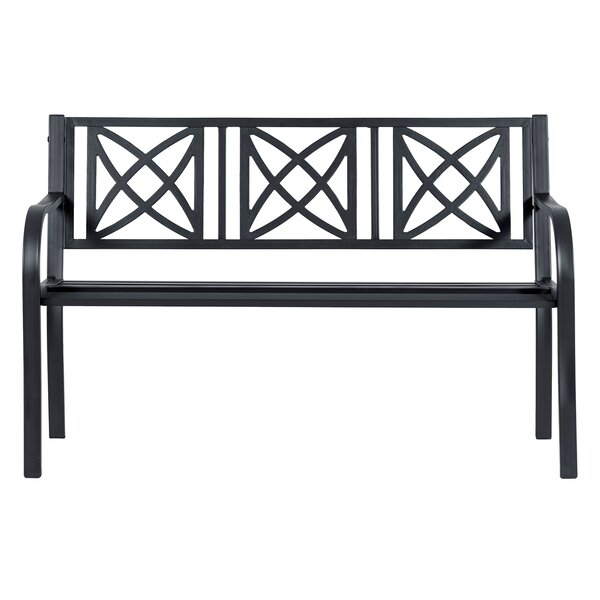 Kelty Steel Garden Bench by Charlton Home