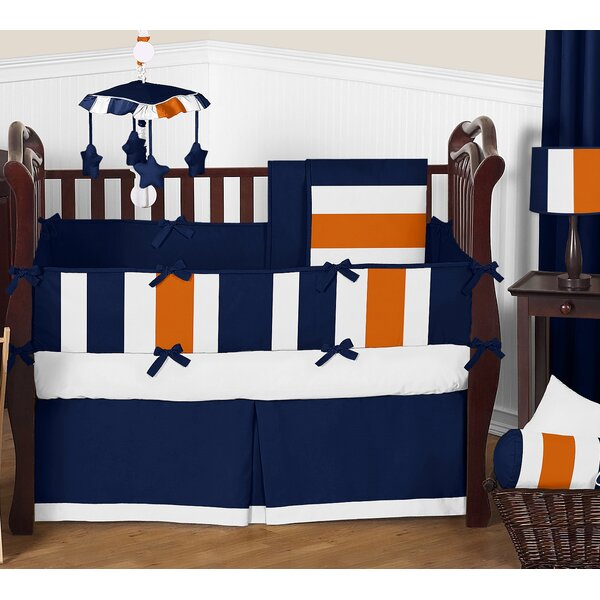 Stripe 9 Piece Crib Bedding Set by Sweet Jojo Designs