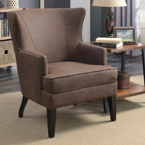 Mcclanahan Wingback Chair by Williston Forge