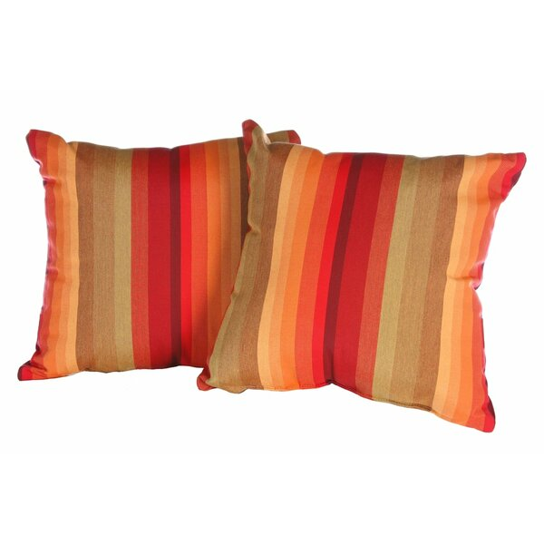 Anns Outdoor Throw Pillow (Set of 2) by Darby Home Co