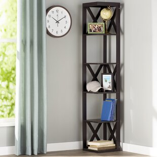 Read Reviews Hattie Corner Unit Bookcase By Andover Mills