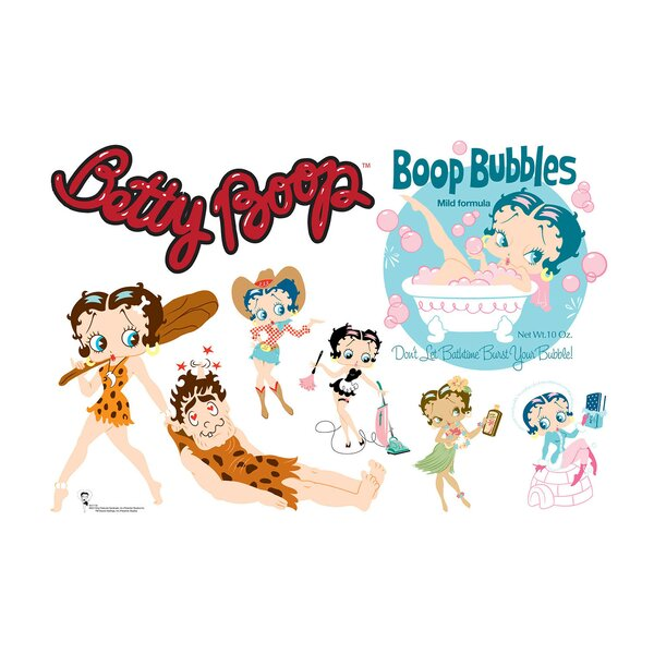 Betty Boop Character Wall Decal by Advanced Graphics