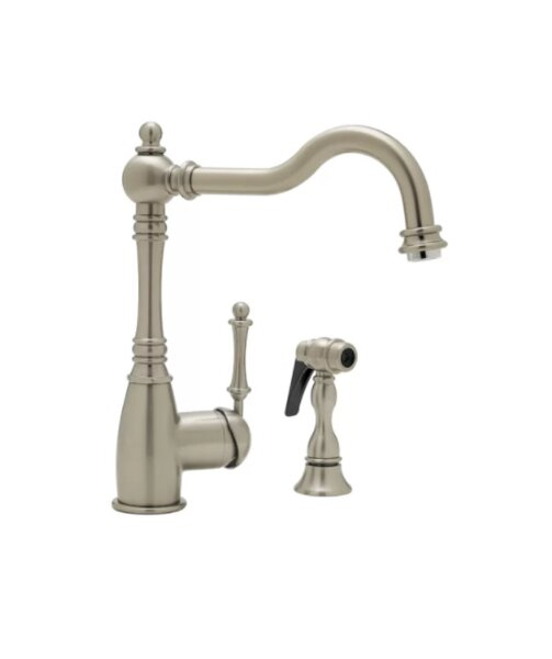 Grace Single Handle Kitchen Faucet with Side Spray by Blanco