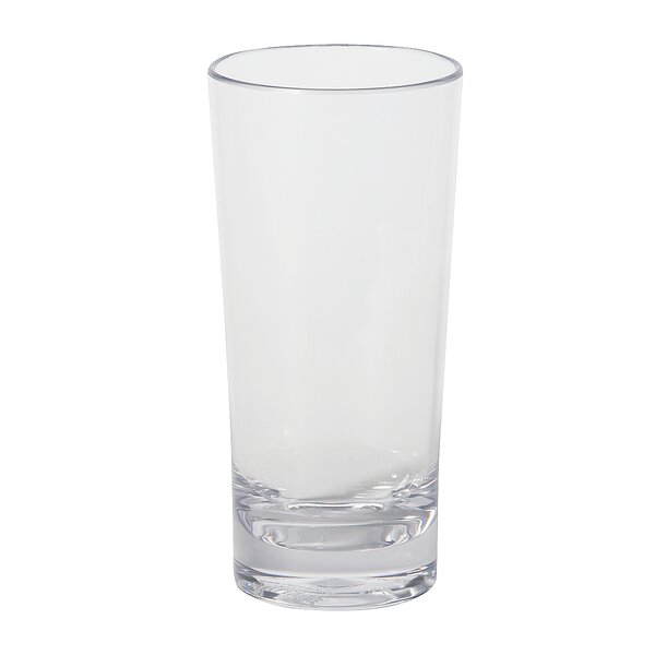 Alibi™ Beer Glass 14 oz. Plastic (Set of 24) by Carlisle Food Service Products