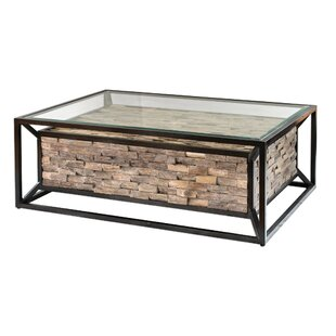 Braxten Reclaimed Teak Coffee Table Union Rustic