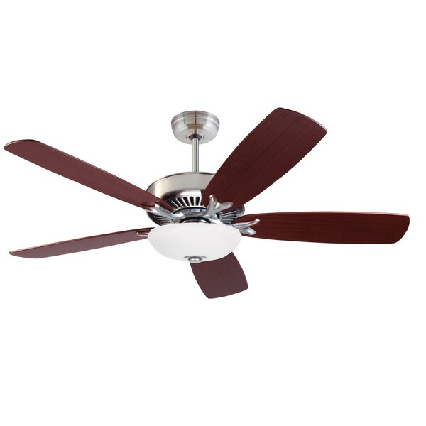 58 Midvale 5 Blade Ceiling Fan by Red Barrel Studio