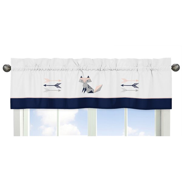 Fox Patch 15 Window Valance by Sweet Jojo Designs