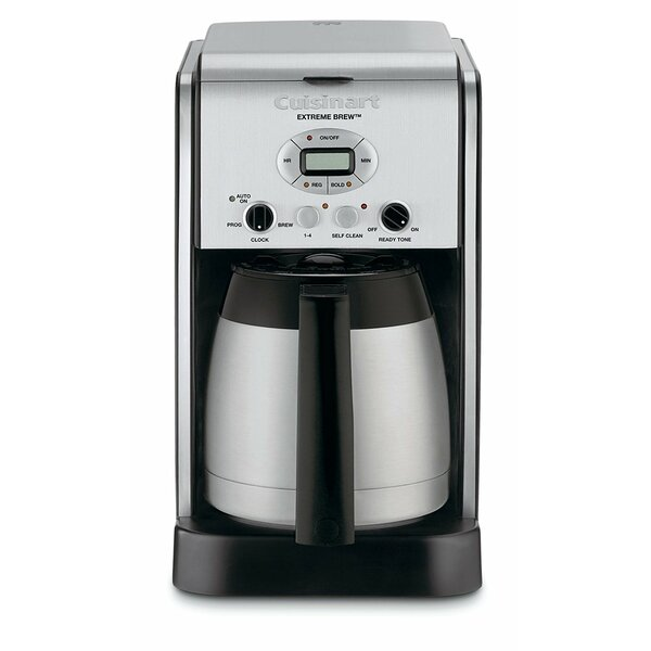 10-Cup Extreme Brew Thermal Programmable Coffee Maker by Cuisinart