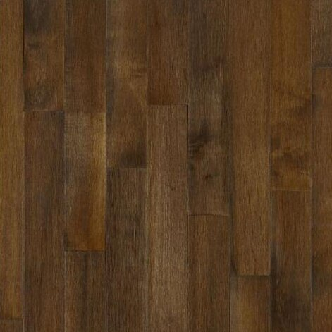 5 Solid Maple Hardwood Flooring in Cappuccino by Bruce Flooring