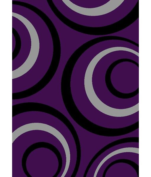 Purple Purple Area Rug by Persian-rugs
