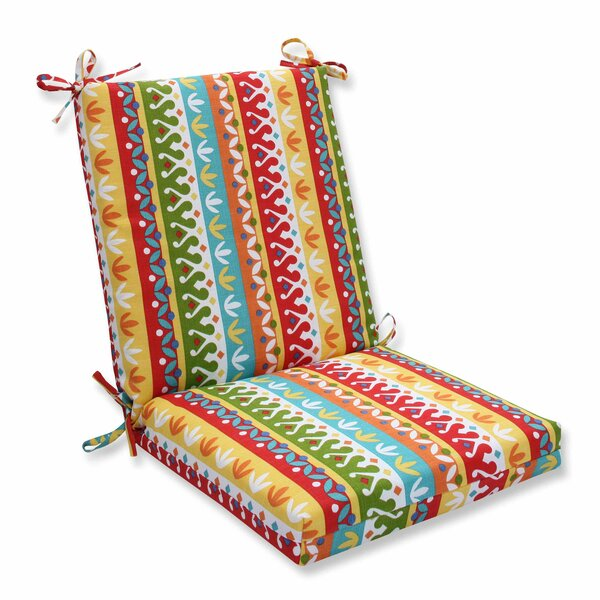 Cotrell Indoor/Outdoor Dining Chair Cushion by Pillow Perfect