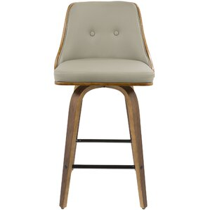 Alexa Counter 26.25  Swivel Bar Stool  sc 1 st  AllModern : contemporary swivel bar stools with back - islam-shia.org