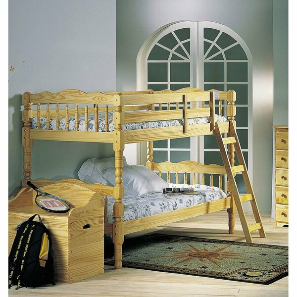 Schneider Wood Twin Bunk Bed by Harriet Bee