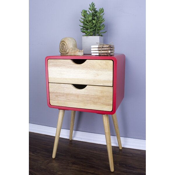 Hendrum Euro End Table With Storage By George Oliver