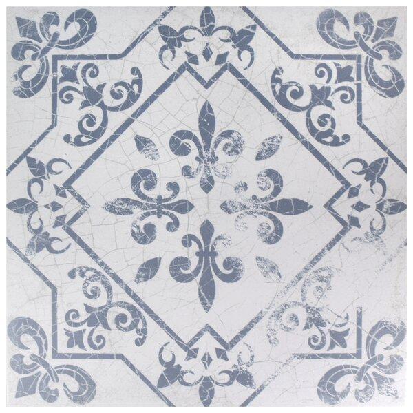 Baltic 17.63 x 17.63 Ceramic Field Tile in Azul by EliteTile
