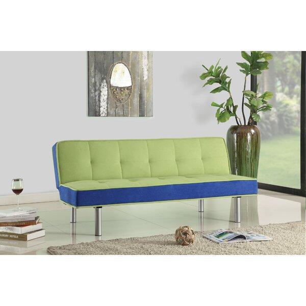 Cavazos Adjustable Flannel Convertible Sofa by Trule Teen