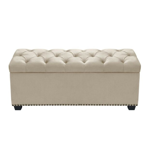 Boyes Button Tufted Storage Bench by Darby Home Co