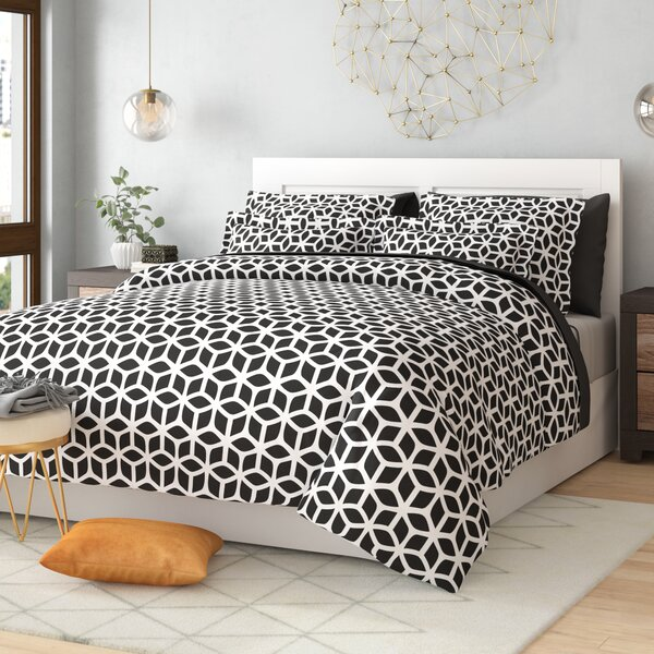 Blanton Reversible Duvet Set by Langley Street