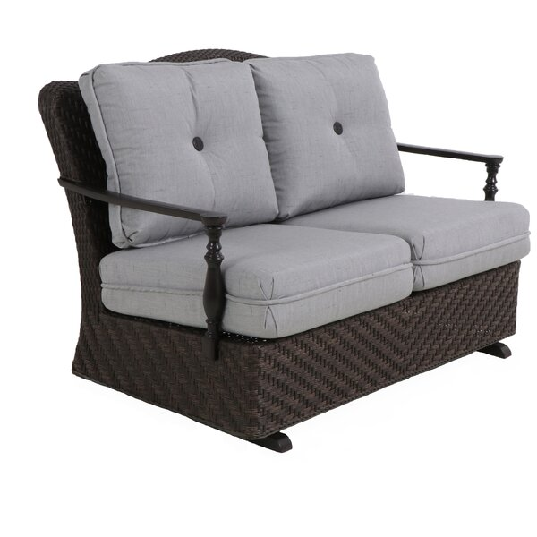 Bungalow Glider Bench with Cushion by Paula Deen Home