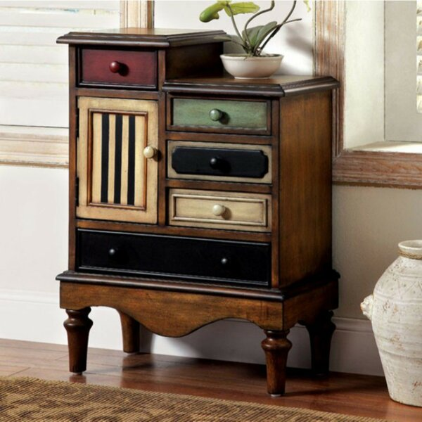 Pinheiro Vintage 4 Drawers Accent Chest By August Grove