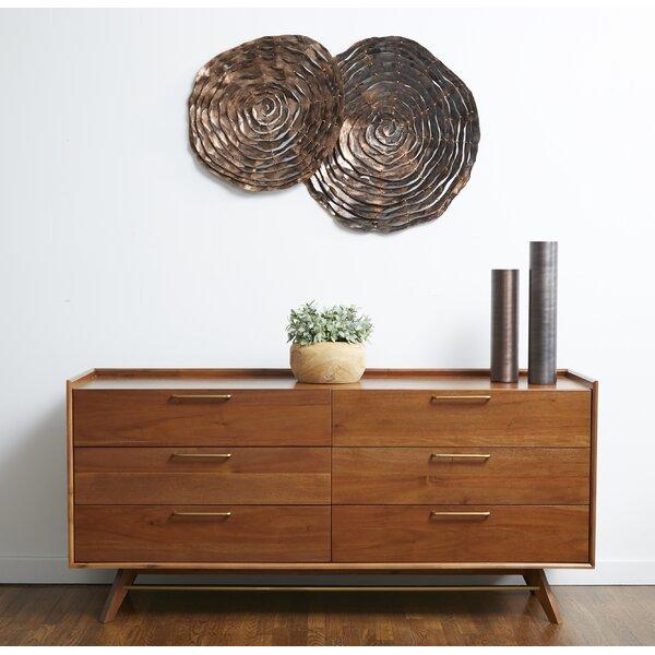 Moffitt 6 Drawer Double Dresser by Brayden Studio