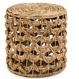 Halie Woven Pouf by Bungalow Rose