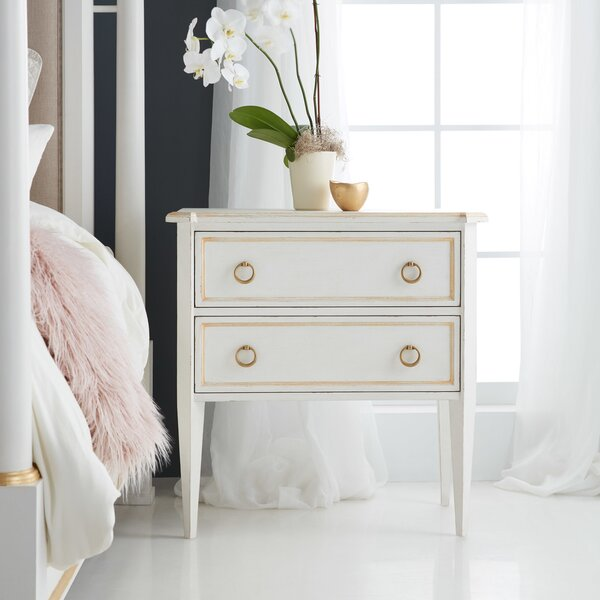 Covington 2 Drawer Nightstand by Modern History Home