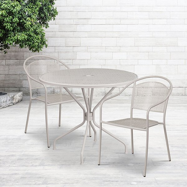 Pacanow 3 Piece Bistro Set by Wrought Studio