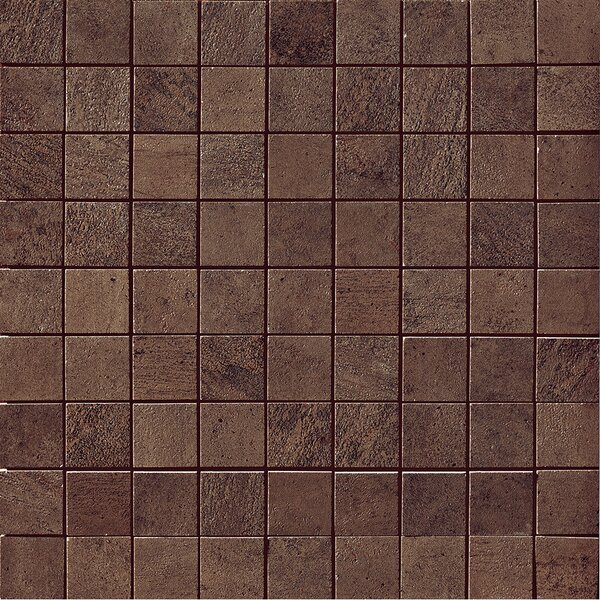 Genesis Porcelain Mosaic Tile in Moka by Samson