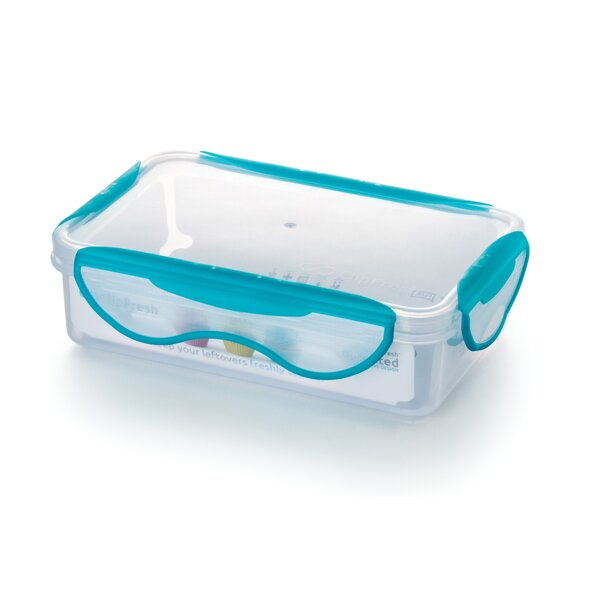 Rectangle 30.5 Oz. Food Storage Container (Set of 6) by ClipFresh