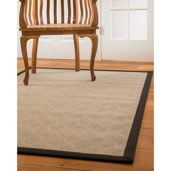 Lancer Hand-Woven Beige Area Rug by Natural Area Rugs