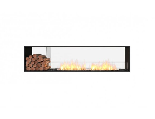 FLEX86 Double Sided Wall Mounted Bio-Ethanol Fireplace Insert by EcoSmart Fire