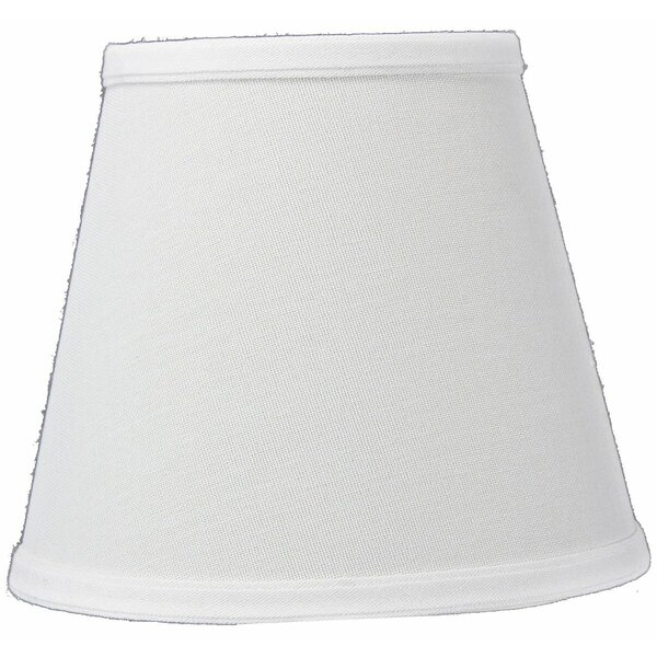 8 Linen Empire Lamp Shade by Charlton Home