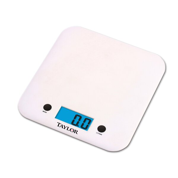 Slim Electronic Kitchen Scale by Taylor