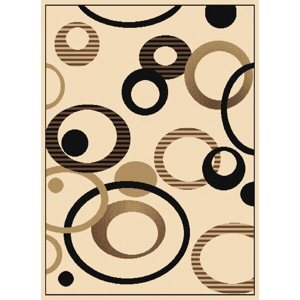 Dallas Hip Hop Ivory Area Rug by United Weavers of America
