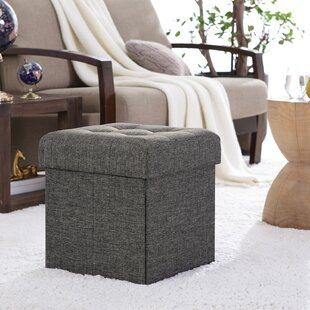 Sensational Lambertville Foldable Tufted Square Cube Foot Rest Storage Ottoman Inzonedesignstudio Interior Chair Design Inzonedesignstudiocom