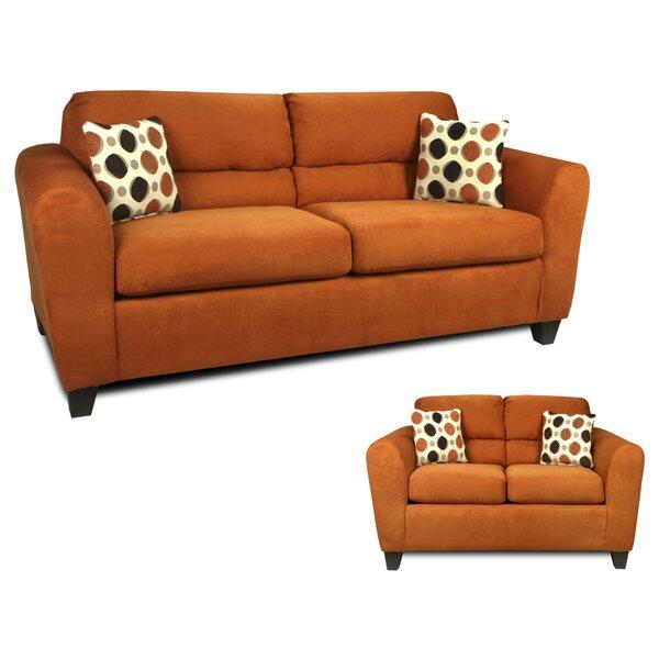 Nashville 2 Piece Living Room Set by Winston Porter
