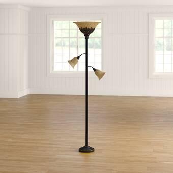 Meyda Tiffany Tulip 71 Torchiere Floor Lamp Wayfair