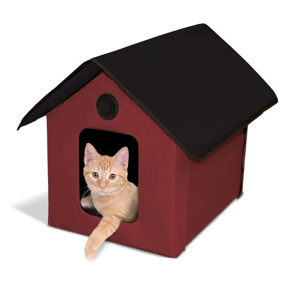 Outdoor Heated Barn Cat House by K&H Manufacturing