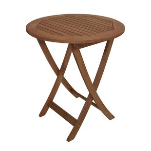 Parsley Folding Wooden Side Table