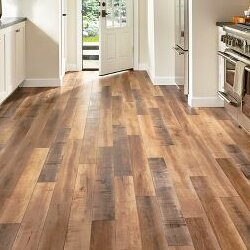 Architectural Remnants 5 x 48 x 12mm Oak Laminate Flooring in Worldy Hue by Armstrong Flooring