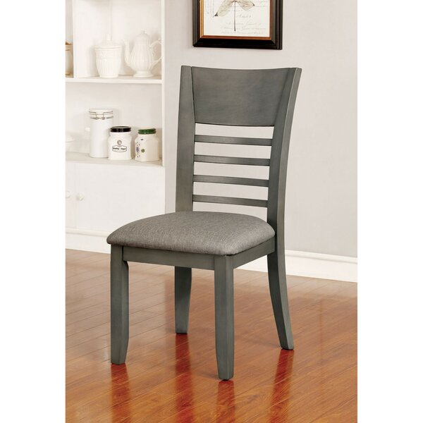 Pulaski Transitional Upholstered Dining Chair (Set of 2) by Loon Peak