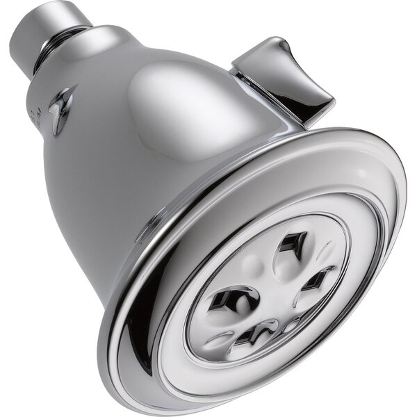 Universal Showering Components Contemporary 2 GPM Shower Head with H2okinetic Technology by Delta