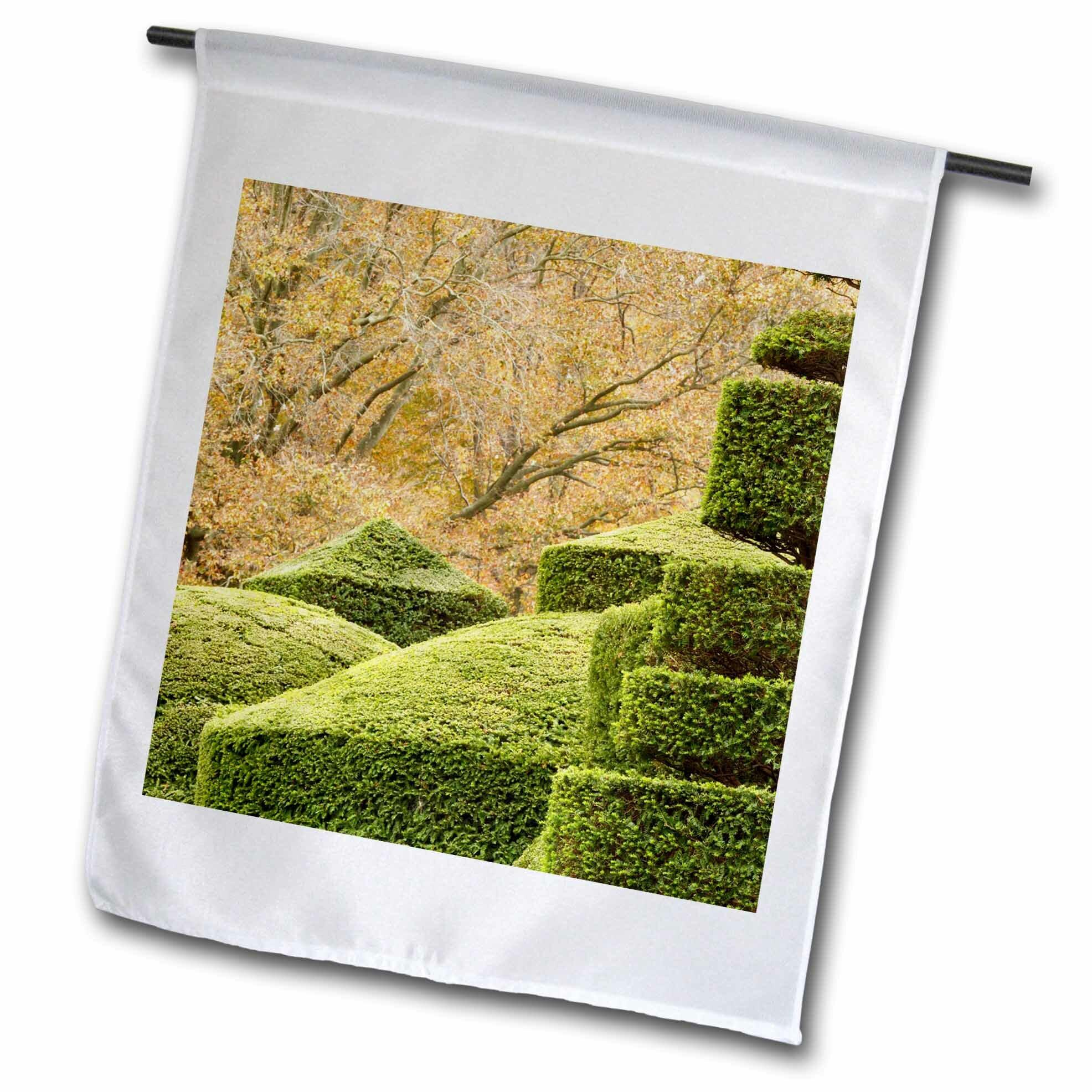 3drose Topiary Garden Pennsylvania Polyester 18 X 12 In Garden Flag Wayfair