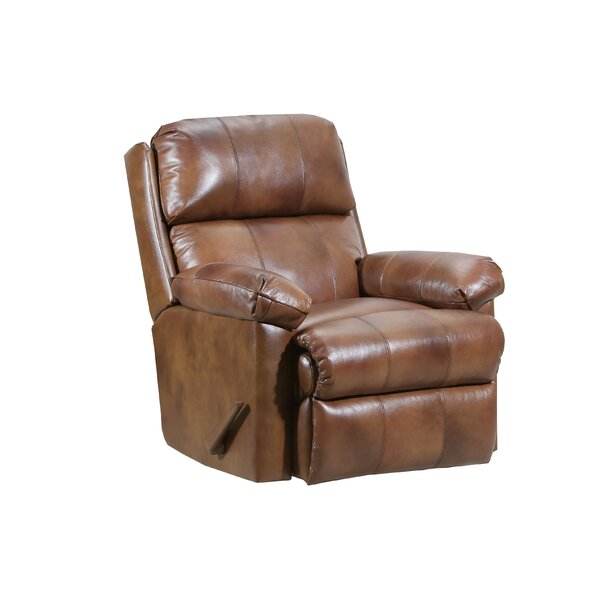 Delsur Leather Manual Recliner W001307423