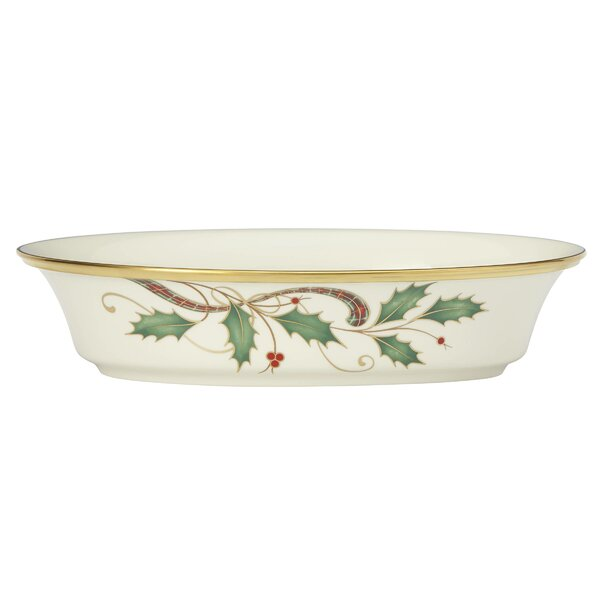 Holiday Nouveau Vegetable Bowl by Lenox