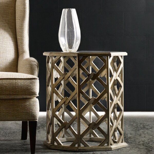 Melange Nico End Table by Hooker Furniture