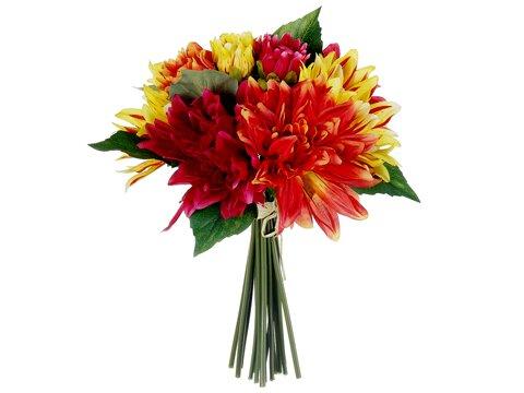 Glenburn Dahlia Bouquet by August Grove