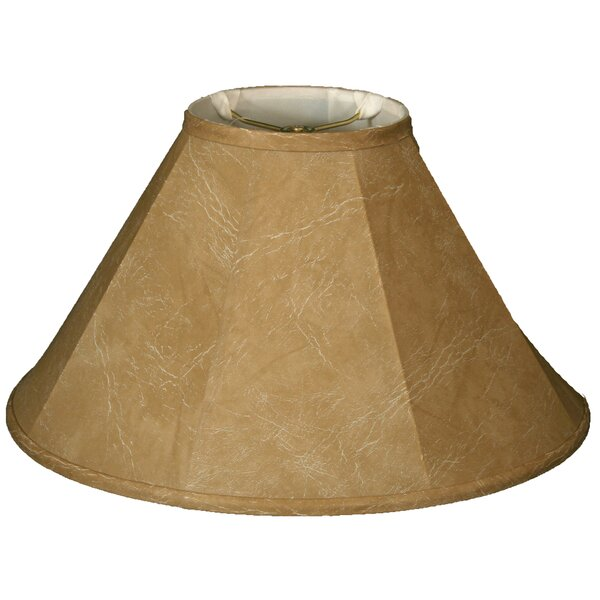 Timeless 22 Faux Leather Empire Lamp Shade by Royal Designs